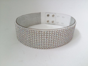 Choker with White Crystals