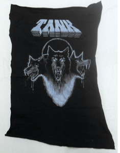 Tank - Filth Hounds of Hades - Grey Test Backpatch