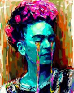 "Frida Kahlo 24x36"" Poster"
