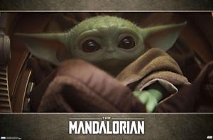 """The Mandolarian Baby Yoda 36x24"""" Poster"""