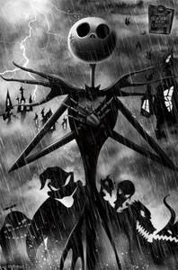 "Nightmare Before Christmas - Shadows 24x36"" Poster"
