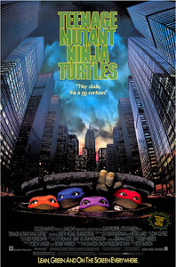 "TMNT Movie 24x36"" Poster"
