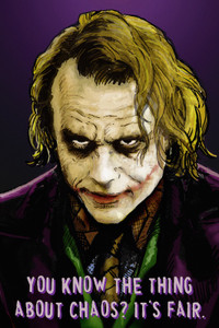 """Joker - You Know The Thing 24x36"""" Poster"""