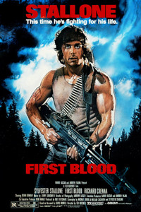 """Rambo - First Blood 24x36"""" Poster"""