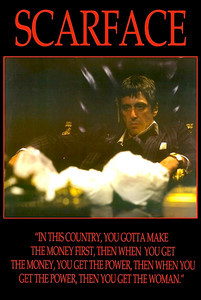 """Scarface - This Country 24x36"""" Poster"""
