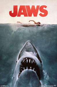 """Jaws 24x36"""" Poster"""