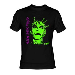 Alien Sex Fiend Face T-Shirt