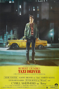 """Taxi Driver - Street Color 24x36"""" Poster"""