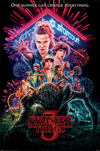 "Stranger Things - 3rd Season 24x36"" Poster"