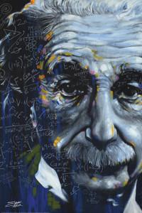 """Einstein 24x36"""" Poster"""