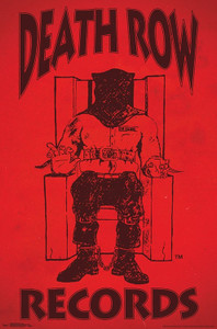 """Death Row Records 24x36"""" Poster"""
