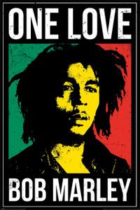 "Bob Marley - One Love 24x36"" Poster"