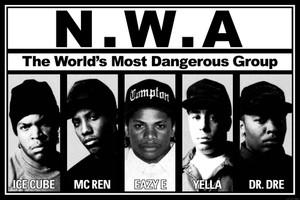 "N.W.A 36x24"" Poster"