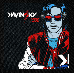 "Kavinsky 1986 4x4"" Color Patch"