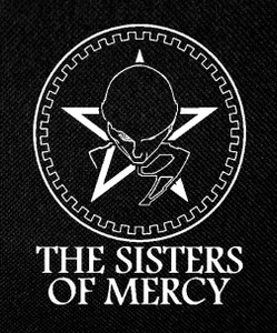 "The Sisters of Mercy 4x5"" Printed Patch"