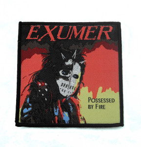 "Exumer - Possessed By Fire 4X4"" WOVEN Patch"