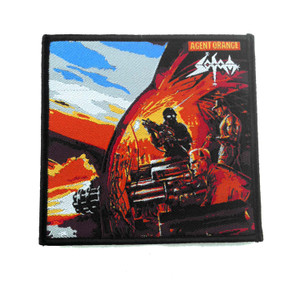 "Sodom - Agent Orange 4X4"" WOVEN Patch"