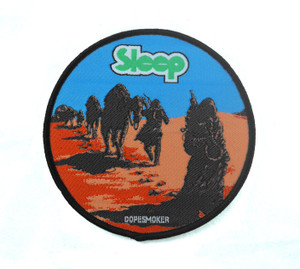 "Sleep - Dopesmoker 3.5x3.5"" WOVEN Patch"