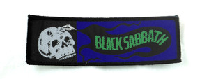 "Black Sabbath 1.5x4.5"" WOVEN Patch"