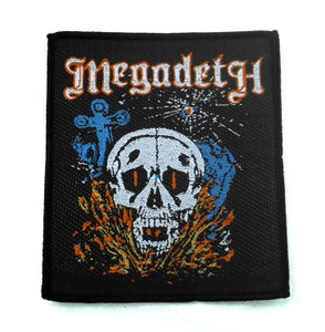 "Megadeth 4x3.5"" WOVEN Patch"