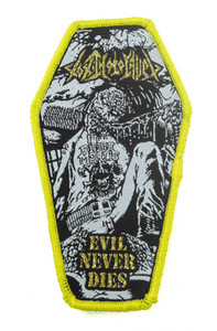 "Toxic Holocaust - Evil Never Dies 4.5x2.5"" WOVEN Patch"