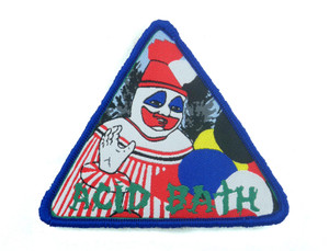 "Acid Bath - When The Kite String Pops 3x3.5"" WOVEN Patch"