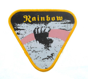 "Rainbow - Rising 3x3"" WOVEN Patch"
