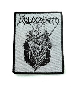 "Holocausto 4x3"" WOVEN Patch"