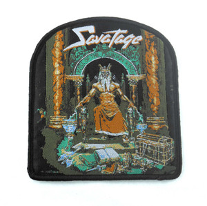 "Savatage - Hall Of The Mountain King 4x3.5"" WOVEN Patch"