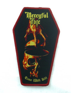 "Mercyful Hate - Time Will Kill 4.5x3"" WOVEN Patch"