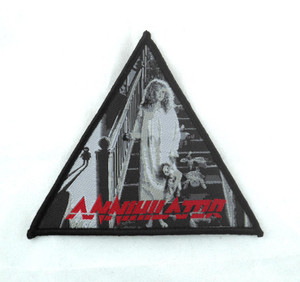 "Annihilator - Alice In Hell 3.5x3.5"" WOVEN Patch"