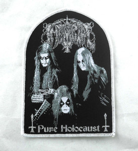 "Immortal - Pure Holocaust 4.5x3"" WOVEN Patch"