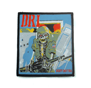 "D.R.I. - Dirty Rotten Liars 3.5x3"" WOVEN Patch"