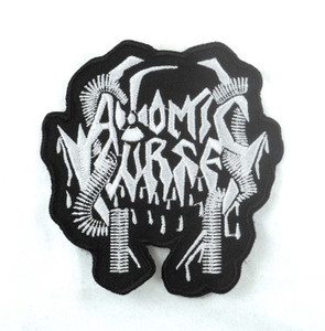 "Atomic Curse 4x4"" WOVEN Patch"