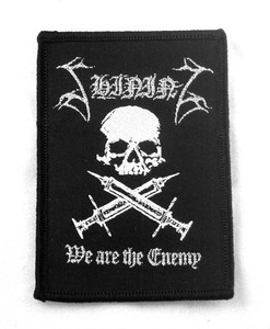 "Shining - We Are The Enemy 3x2"" WOVEN Patch"