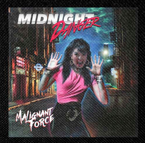 "Midnight Danger - Malignant Force 4x4"" Color Patch"
