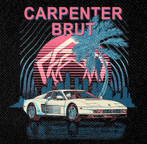 "Carpenter Brut 4x4"" Color Patch"
