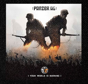 "Panzer AG - Your World Is Burning 4x4"" Color Patch"