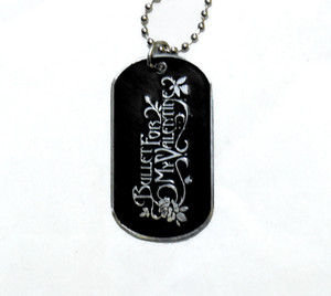 Bullet For My Valentine - Dog Tag Necklace