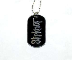 Slipknot - Dog Tag Necklace