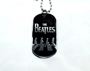 The Beatles - Abbey Road Dog Tag Necklace