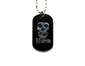 Misfits Logo - Dog Tag Necklace