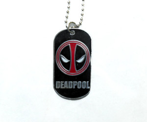 Deadpool - Dog Tag Necklace