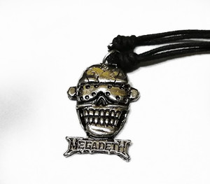 Megadeth - Vic Rattlehead Necklace