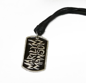 Marilyn Manson - Dog Tag Necklace
