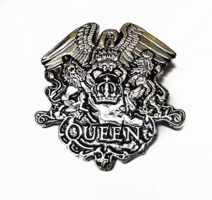 Queen -  Crest Metal Belt Buckle