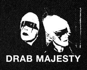 "Drab Majesty 5x4"" Printed Patch"
