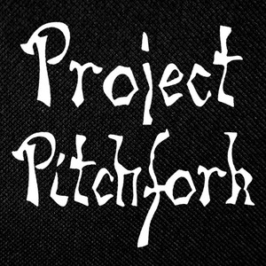 "Project Pitchfork - Logo 4.5x4.5"" Printed Patch"