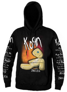 Korn - Issues Hooded Sweatshirt