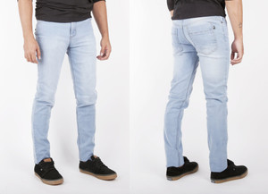 Antifashion - Light Wash Denim Skinny Jeans